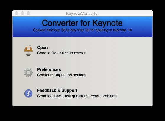 Converter for Keynote – Easily Convert Keynote Presentations